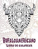 Búfalo americano - Libro de colorear