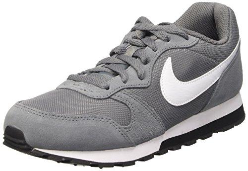 Nike MD Runner 2 (GS), Scarpe da Corsa, Grigio (Cool Grey/White/Black), Numeric_39 EU