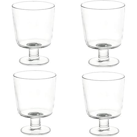 IKEA 365+ ワイングラス クリアガラス ゴブレット 4個セット