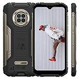 """Téléphone Portable Incassable DOOGEE S96 Pro,IP68 Smartphone Étanche Antichoc,NFC,【RAM 8Go+ROM 128Go】,Android 10,Batterie 6350mAh,Écran 6.22"""",Caméra 48+20+8+2MP&16MP,Charge sans Fil,Rapide 24W (Noir)"""