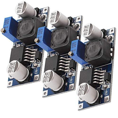 AZDelivery 3 x LM2596S DC-DC Netzteil Adapter Step down Modul kompatibel mit Arduino inklusive...