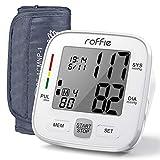Roffie Tensiómetro de Brazo Digital Monitor Tipo de Banda para Brazo Digital Medidor de Presión...