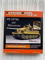 ボイジャーモデル PE35795 1/35 WWIIドイツ タイガーI後期型 エッチングセット(タミヤ35146/25109/25401用)