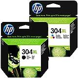 1x HP 304XL Black and 1x HP 304 XL Colour