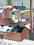 Poster 30 x 40 cm: Marienkirche in Bonn im Schnee von