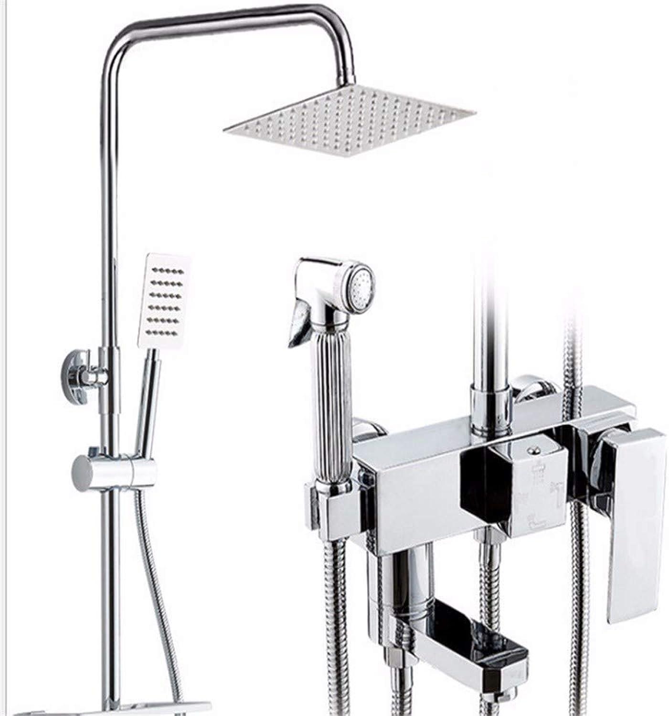Kupfer Duschset warme und kalte Dusche Dusche nach Hause Dusche Duschkopf Dusche Badezimmer