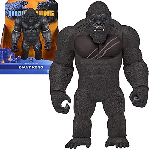 28 Cm Godzilla Vs Kong Dinosaurios De Juguete 2021 Monsterverse Movie Action Figure Anime, Giant King Kong Kids Toys Gift