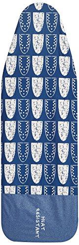 Addis Deluxe - Funda para tabla de planchar, color azul(marino/blanco), 135 x 46 cm