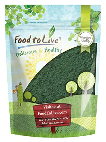 Chlorella Powder, 4 Ounces - Kosher, Raw Green Algae, Vegan Superfood, Bulk, Pure Vegan Green Protein, Rich in Vitamins and Minerals, Great for Drinks, Teas and Smoothies