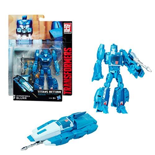 TRANSFORMERS Generation - Robot titan 10cm - Jouet transformable 2 en 1