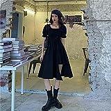 ShSnnwrl Sexy y Belleza conviven Dresses Vestidos Mujervestido De Una Pieza Vendaje Negro Vestidos Elegantes Mujeres Casual Manga