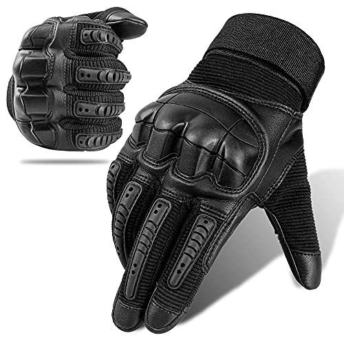 Outdoor Sports Screen Touch Full Finger Gloves for Motorcycle Cycling Camping ATV Riding