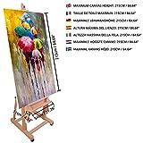 Immagine 2 kurtzy cavalletto pittura professionale ad