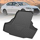 Alfombrillas para Maletero para Lexus GS 2013-2020 Alfombrilla de Goma Antideslizante para Protectora Maletero