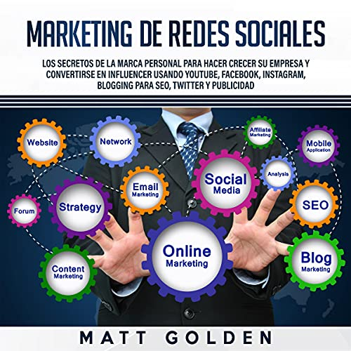 Marketing de redes sociales [Social Media Marketing] cover art