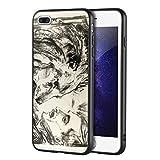 Berkin Arts Edvard Munch pour iphone 7 Plus&iphone 8 Plus/Cas de téléphone Portable d'art/Giclée UV Impression sur cellulaire Couverture(Le Lion Tamer SCH)