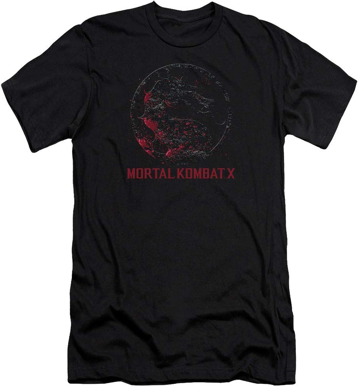 Mortal Kombat X  Mens Bloody Seal Premium Slim Fit TShirt