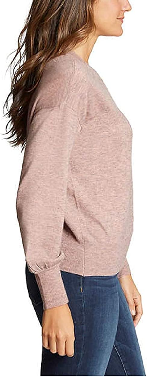 Ella Moss Women's Puff Sleeve Sweater