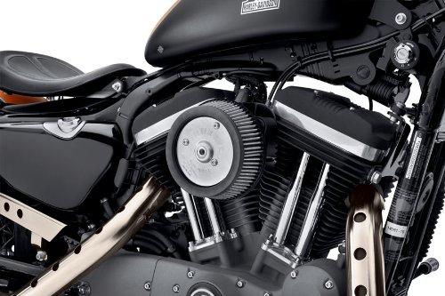 GZM Luftfilter-Set Stage I rund schwarz Sportster Screamin Eagle Harley Davidson