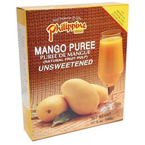 24x500g Philippine Brand Mango Püree ungesuesst