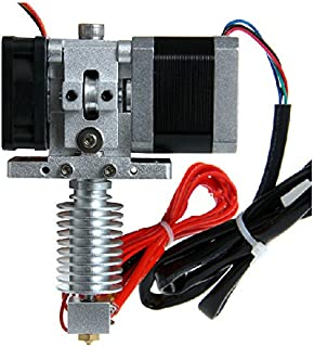 Assembled Gt8 Extruder 0.3-0.5mm Nozzle All Metal J-head Hotend for 3d Printer