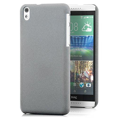 Saxonia HTC Desire 816 / 816G Hülle Case Slim Cover Schutzhülle matt Grau
