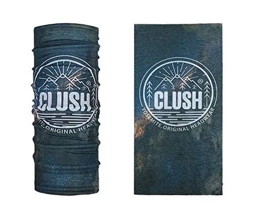 CLUSH New Mexico 2 - Bedrucktes Multifunktionstuch Bandana Halstuch Kopftuch: Face Shield- Material ist flexibel und atmungsaktiv - Maske fürs Motorrad-, Fahrrad- und Skifahren, für Damen und Herren