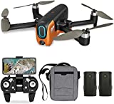 GPS Drone with Camera 4K UHD for Beginners, Foldable Quadcopter 5G WiFi FPV Live Video with Brushless Motor,Auto Return Home, Follow Me, 40 Minutes Flight Time (2 Batteries&Carrying Bag)