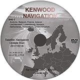 Navegación Sat Nav Mapa DVD Actualización 2018 - compatible con KENWOOD LAND ROVER, RANGE ROVER, MAZDA, SUBARU CORE 1 - Disco del Reino Unido C