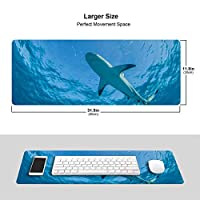 海のサメ マウスパッド キーボードパッド 滑らかマウスパッド ゲーミングパッド 大型 オフィス 家庭用
