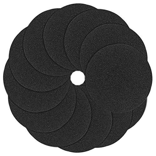 YuCool 12 Packungen Filter für Komposteimer, Küchenkomposteimer Aktivkohlefilter Ersatz 18 cm rund