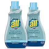 all Fresh Clean Essentials Laundry Detergent, Sulfate Free, Fresh...