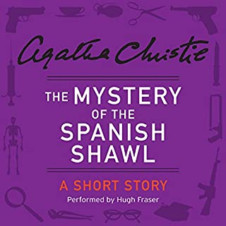 The Mystery of the Spanish Shawl cover art