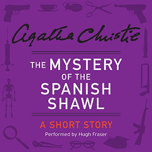 The Mystery of the Spanish Shawl audiobook cover art