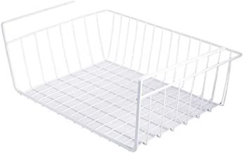 Strong Carrying Capacity Under shelf basket,Under shelf table storage,Without drilling Stainless steel Space saver Tight m...