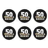 GodYo Saludos y Cervezas hasta 50 años Imanes de Nevera Abrebotellas de Cerveza Botella de Coca Cola Abridores de refrescos de Vino Imán de Cocina Etiqueta magnética imanes de Nevera