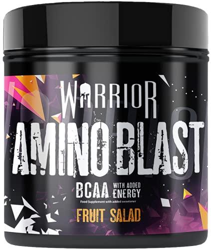Amino Blast BCAA Pre-Workout Powder 270g - 30 Servings | Warrior Supplements (Fruit Salad)