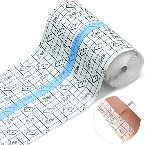 Wasserdicht Transparent Bandage,10cm*10m duschpflaster,wasserdichtes pflaster,Fixierer Pflaster Stretch,transparentes pflaster rolleMedizinisches Klebeband,duschpflaster rolle,antiallergisch