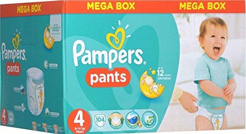 Pampers - Die Schlicker ActivePants 4 Maxi Mega Box 104 Stück
