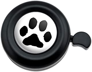 Graphics and More Paw Print Pet Dog Cat Bicycle Handlebar Bike Bell
