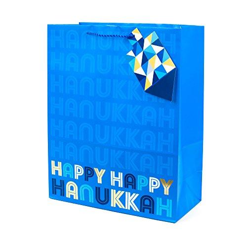 Hallmark Tree of Life 15' Extra Large Hanukkah Gift Bag (Happy Hanukkah)