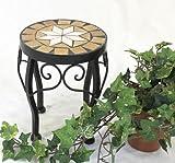 DanDiBo Stool Merano Mosaic 12014 Flower stand 20 cm Stool round Side table