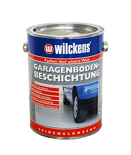 Wilckens Garagenboden-Beschichtung Seidenglänzend Silbergrau RAL 7001 2,5 L
