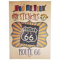 ステンシルシート ルート66 (route66) (Big)