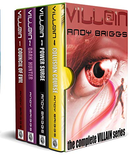 VILLAIN BOXSET: All four books in one: Council of Evil, Dark Hunter, Power Surge,...