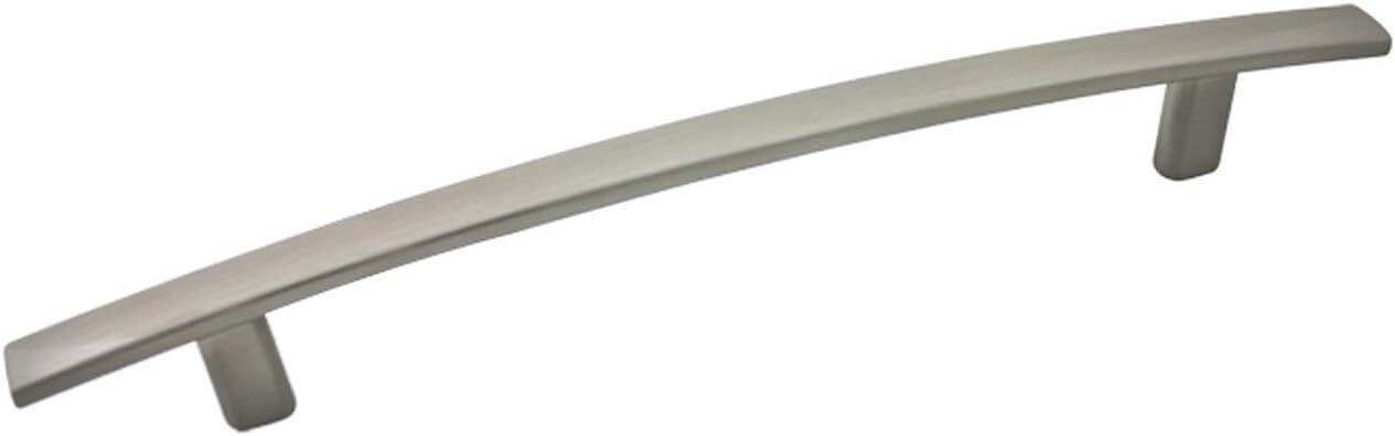 10 Pack - Cosmas 2363-224SN Recommendation Regular store Satin Nickel Har Cabinet Arch Subtle