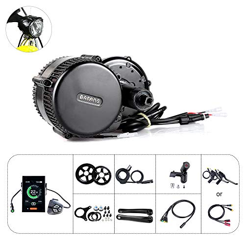Kit de conversión de bicicleta eléctrica Mid Drive Kit Bafang BBS01B Kit de motor central 350W 36V Ebike Motor Bafang Drive System