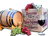 Thousand Oaks Barrel Co. | Barrel XL Aged Cabernet Wine Making Kit with 5 Liter American White Oak...