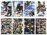 """Poster mit japanischem Anime-Motiv """"Attack On Titan"""","""