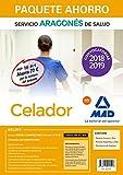 Paquete Ahorro Celador del Servicio Aragonés de Salud. Ahorra 72 € (incluye Temario común y test; Temario específico y test; Simulacros de examen y acceso a Campus Oro)
